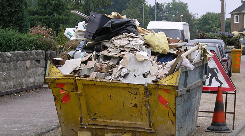 извозване на строителния отпадък в развитите страни?
