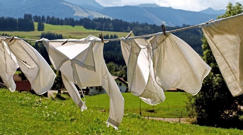 Как се чистят дрехите